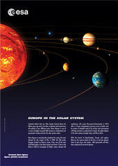 Poster - Europe in the Solar System