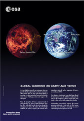 Poster - Global warming on Earth and Venus