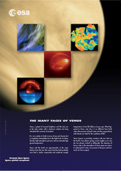 Poster - The many faces of Venus
