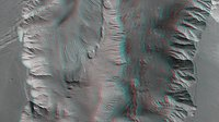 3D view of Candor Chasma