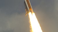 Atlantis shuttle lifts off