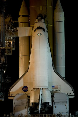 Atlantis ready on the launch pad