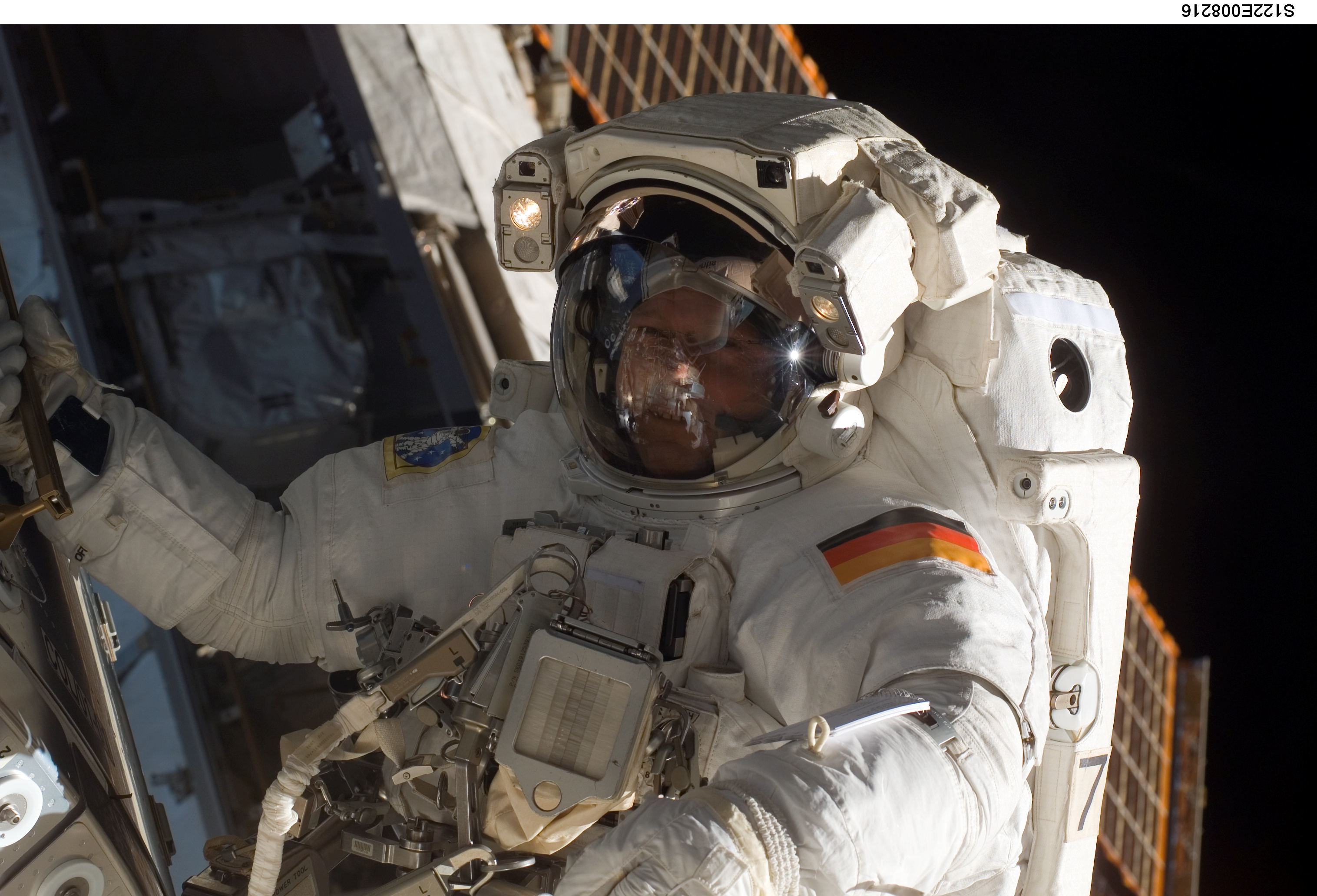 first esa astronaut in space - photo #20