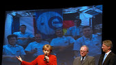 German Chancellor speaks to ESA astronauts on ISS
