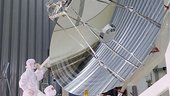Herschel telescope inspection