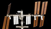 ISS seen from Space Shuttle Atlantis