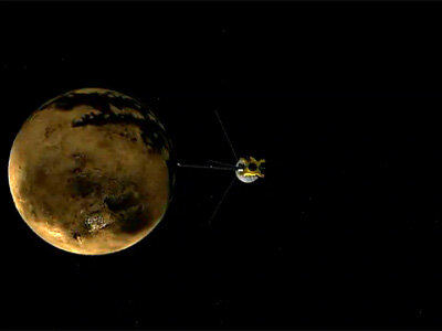 Radar Shows Evidence of Seas on Titan