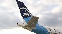 Tail of the Airbus A-300 'Zero-g'