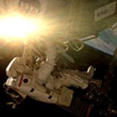 Columbus installed during first STS-122 spacewalk