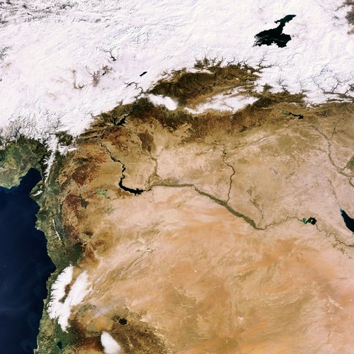 The Middle East as seen by Envisat