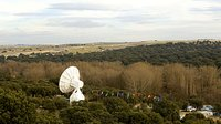 The Villafranca VIL-2 15m S-band antenna. Aerial view of ESAC