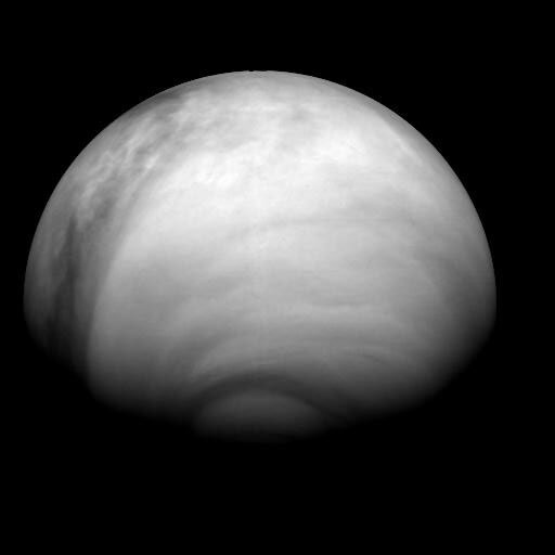 Venus, as seen by Venus Express on 24 July 2007