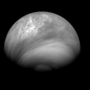 Venus seen by the VMC on 27 July 2007