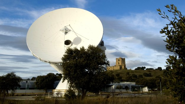 ESA's Villafranca VIL-1 15m S-band antenna is part of the worldwide Estrack ground station network