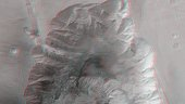 3D view of Hebes Chasma