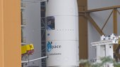 Ariane 5 ES-ATV about to leave BAF