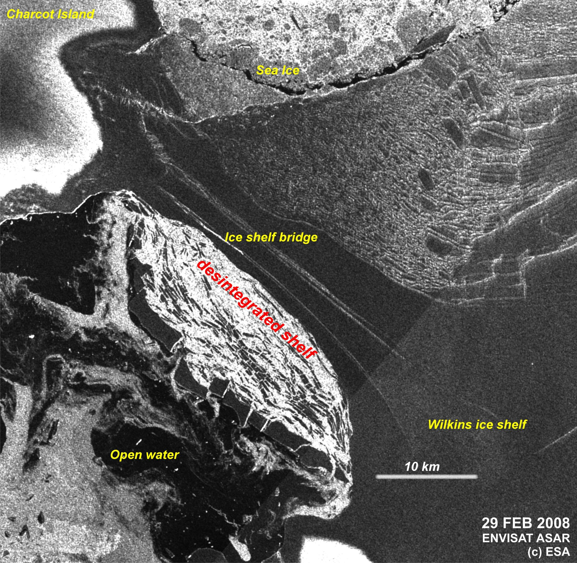 Annotated image of the same area