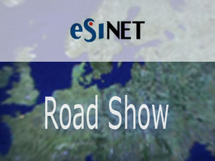 ESINET Road Show Map