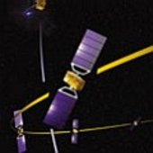 Galileo satellites in orbit
