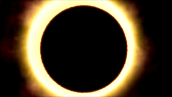 HD 189733b transiting its parent star (artist's impression)