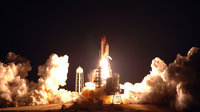Space Shuttle Endeavour lift off