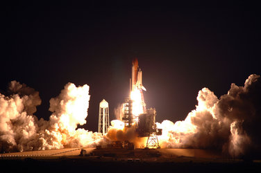 Liftoff of Endeavour on Space Shuttle mission STS-123