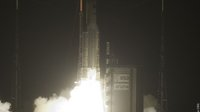 Ariane 5 ES-ATV launcher lift off
