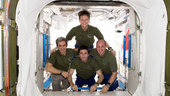 ISS 016 mission crew