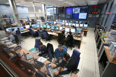 View inside the ATV Control Centre during Demonstration Day 1