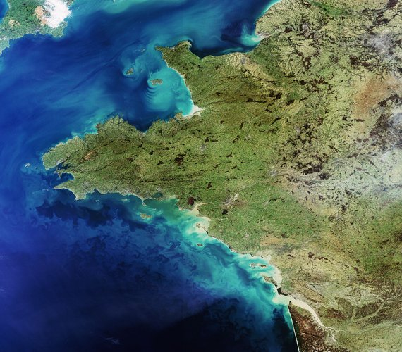 Western France observed by Envisat