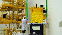 GIOVE-B mated with payload adapter