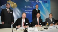 GMES Sentinel-2 satellite contract signed