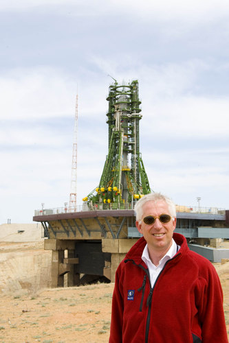 Javier Benedicto and the Soyuz FG-Fregat vehicle