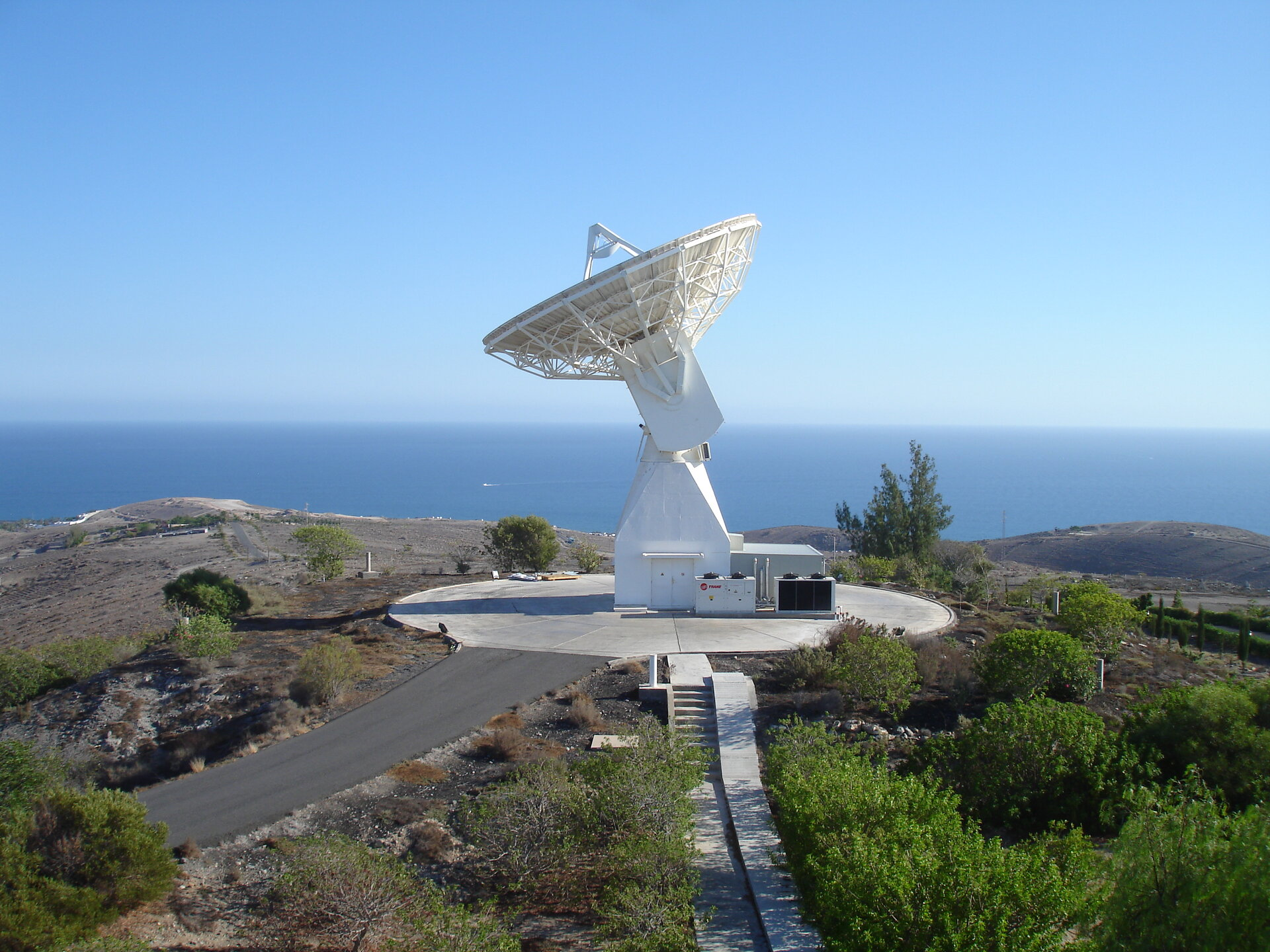 ESA's Maspalomas station today, part of the global ESTRACK network