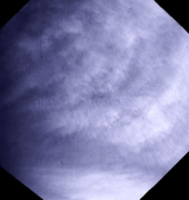 Another view of Cloud structures at Venus's low latitudes