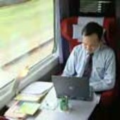 Broadband internet via satellite aboard Thalys