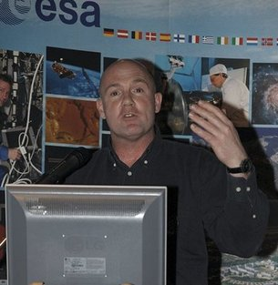 ESA astronaut André Kuipers
