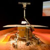 ESA at ILA 2008 - Full-scale model of ExoMars rover