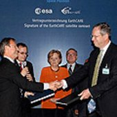 Signing of the EarthCARE contract