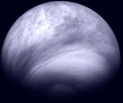 Title Southern hemisphere of Venus in the ultraviolet
