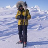 Taking snow-depth measurements for CryoSat
