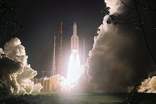 Ariane 5 ECA lift off