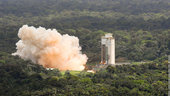 Ariane 5 solid booster test