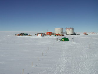Concordia Station in Antarctica
