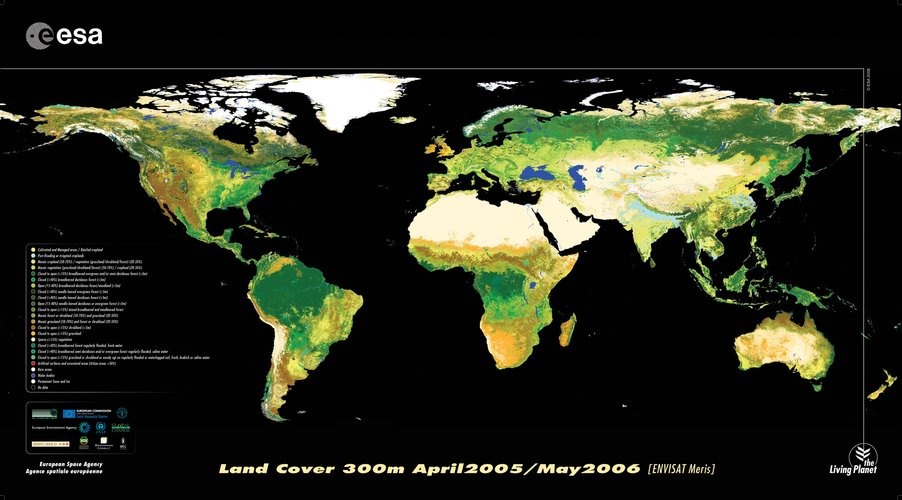 Earth's land cover