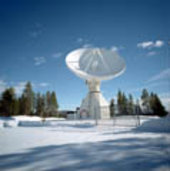 Kiruna ground station