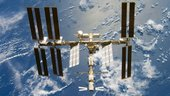 ISS after addition of Japanese Kibo module