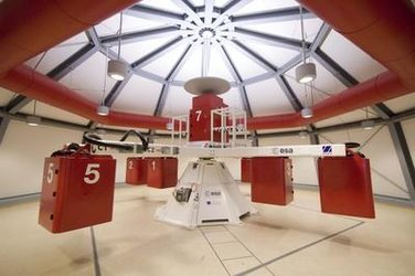 The new Large Diameter Centrifuge at ESA-ESTEC