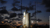 Ariane 5 ECA V184 on launch pad