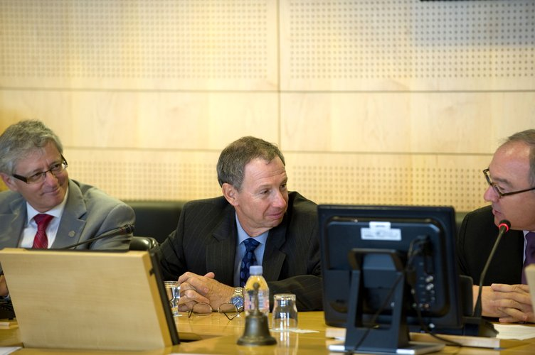 Heads of International Space Station Agencies meeting at ESA Headquarters, Paris